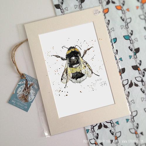 'Bumble Bee' Print