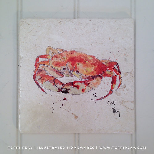 Handcrafted 'Crab' Placemat