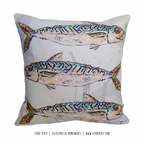'Mackerel' Cushion