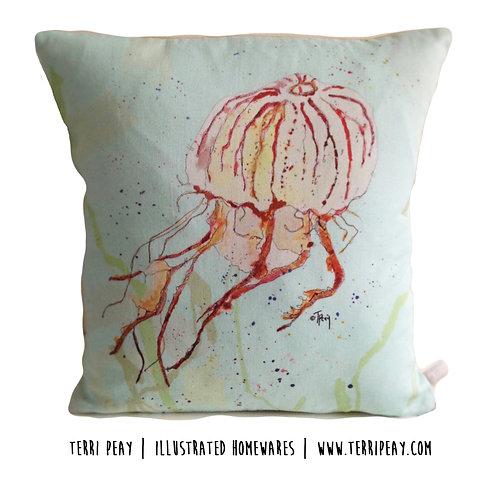 'Compass Jellyfish' Cushion