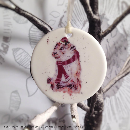 'Winter Otter' Decoration