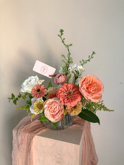 Floral Arrangement: Classic & Lovely