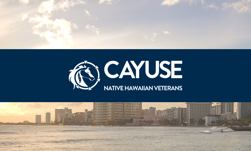 Cayuse Native Hawaiian Veterans