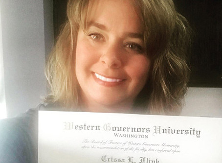 Congratulations Crissa!
