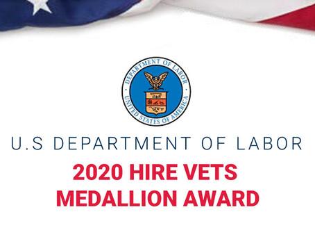 2020 HIRE Vets Medallion Award