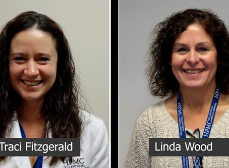 Congratulations Linda Wood and Traci Fitzgerald!