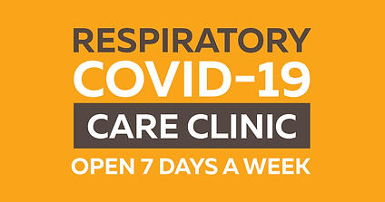 Respiratory   COVID-19 Care Clinic Open Seven Days a Week