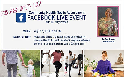 CHNA Facebook Live Event