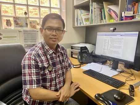 Welcome Dr Kyaw Soe Moe