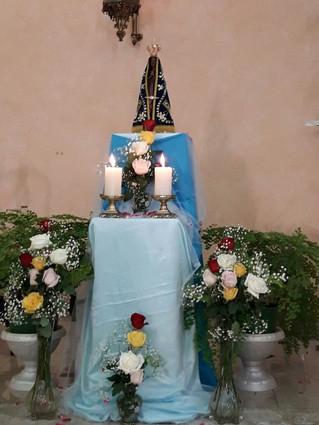 Visita da imagem peregrina de Nossa Senhora Aparecida