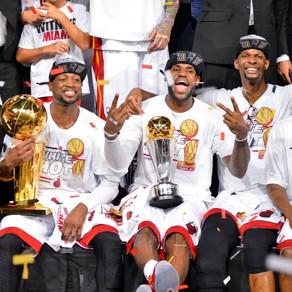 LeBron James, the Big 3 and the San Antonio Spurs