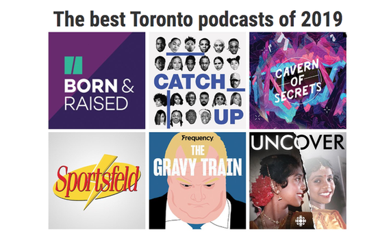 Now Managine Top Podcasts
