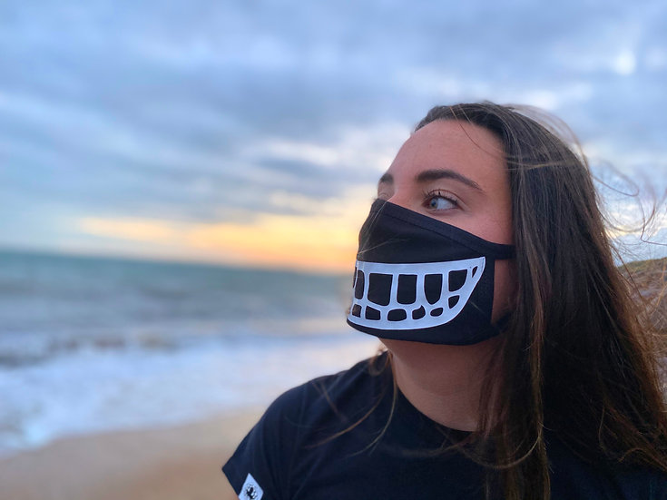 Hurricane Apparel 'Grin' Face Covering