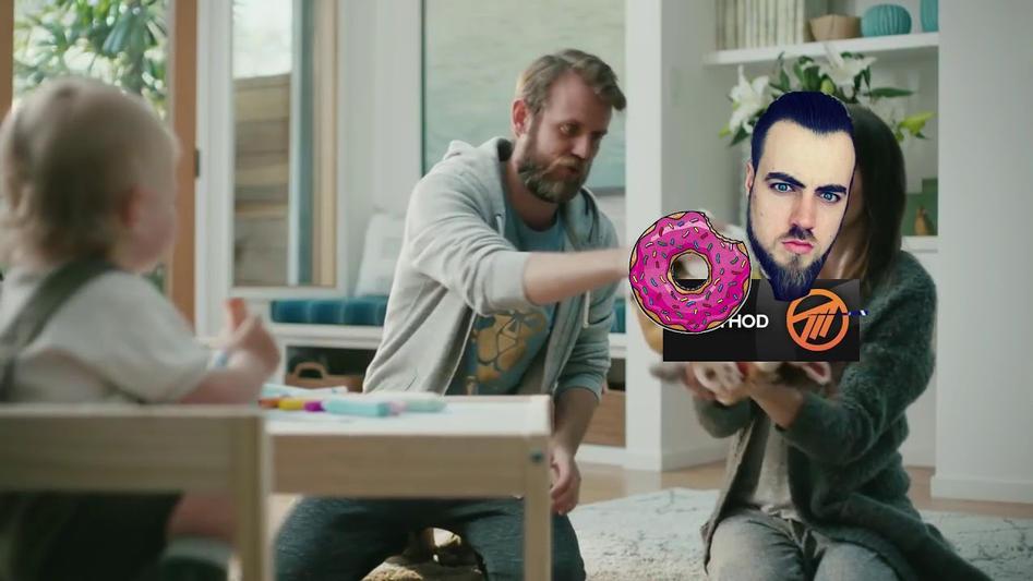 Donut Care BFA Ad