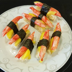 Sushis suprêmes de Coraya & mangue