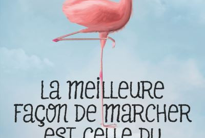 L'avis des libraires - 71ème chronique : La meilleure façon de marcher est celle du flamant rose de