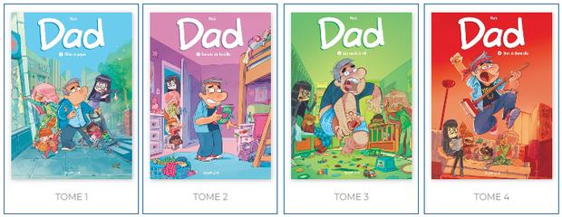 Dad, Tomes 1 à 4 #En 3 points