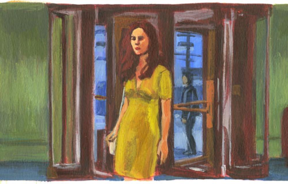 Trois fois dès l'aube illustré par Aude Samama