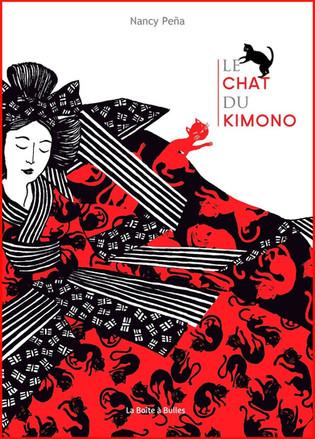 L'avis des libraires - 181ème chronique : Le chat du kimono
