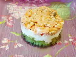 Tartare saumon, kiwi & carré frais