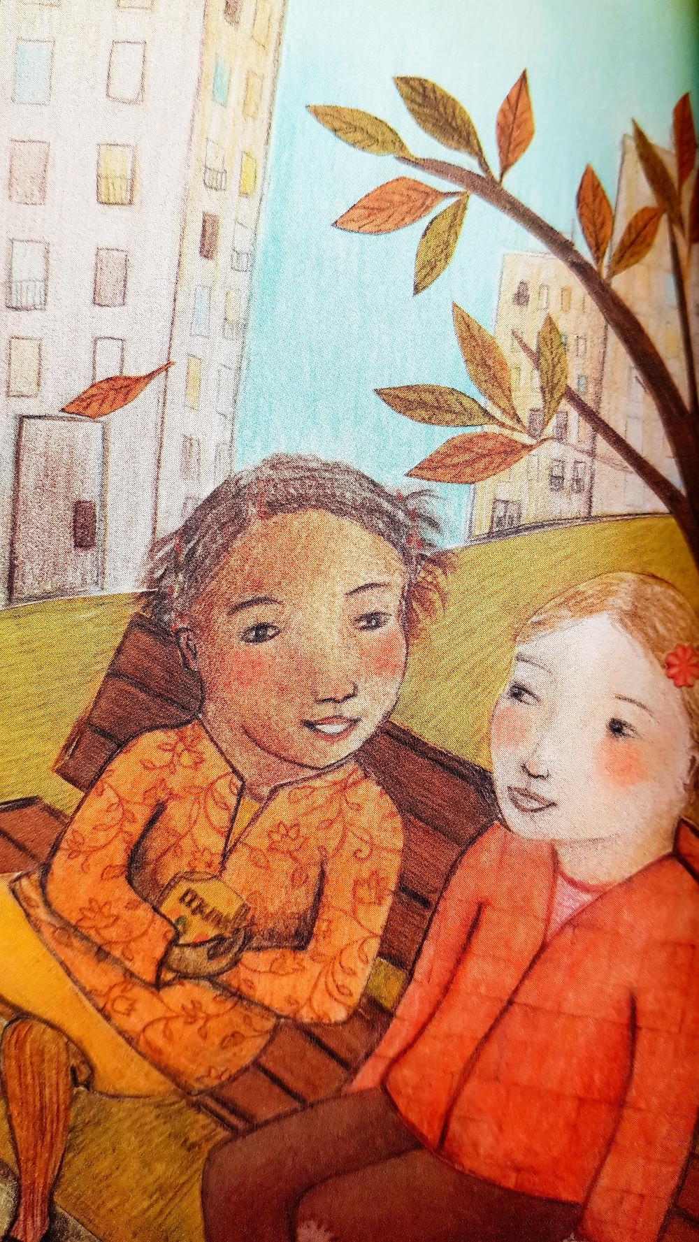 Zoé et Solène : une amitié sur fond de M&Ms