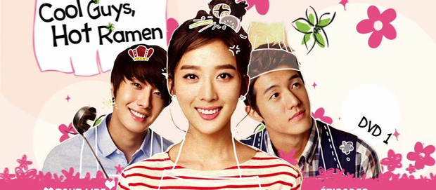 Série files : Cool Guys Hot Ramen / Flower Boys Ramyun Shop