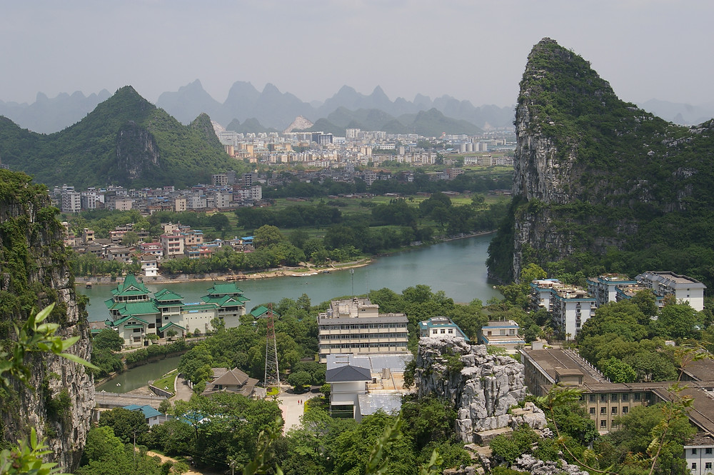 Aperçu de Guilin (Wikimedia Commons)