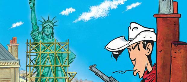 Lucky Luke - Un Cow-Boy à Paris #En 3 points