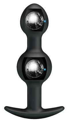 DUO Heavy Balls Silicone Butt Plug 10.4 x 2.6 cm
