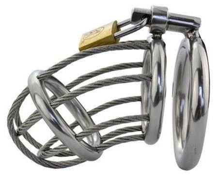 Cage de chasteté Wire 7.5 x 4 cm