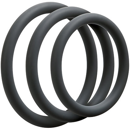 Cockring OPTIMALE 9mm x 3 gris