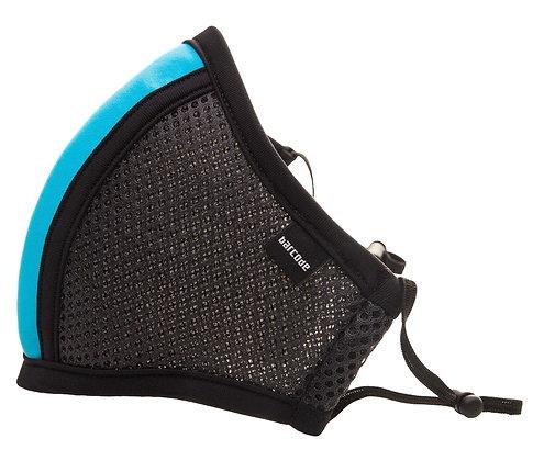 Masque Filtrant D12 LIEUTENANT SKYLE Gris et Bleu