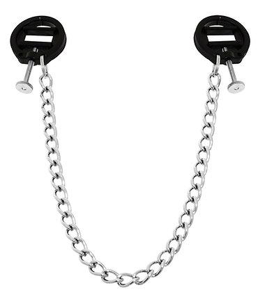 Pinces pour tétons avec chaîne ROUND 4cm