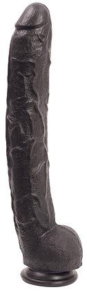 Gode XXL Dick Rambone 34 x 6.4 cm Noir