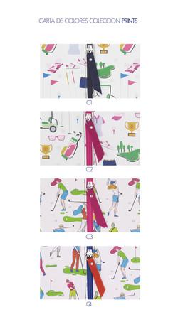 Carta de Colores Colección Prints