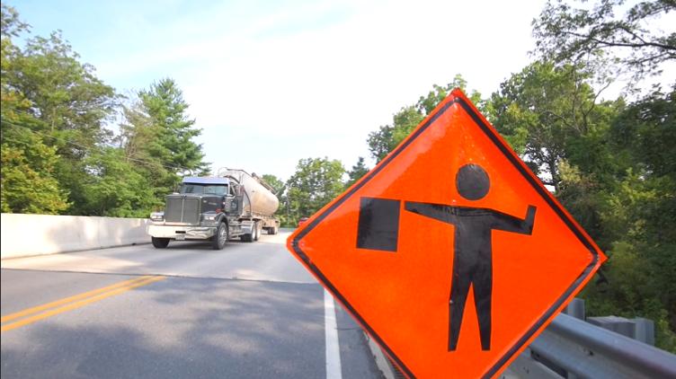 traffic control hand signals