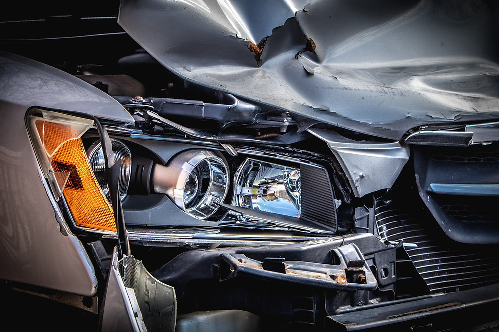 car crash advanced traffic control