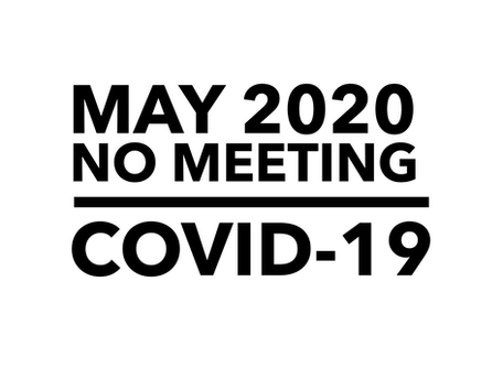 No May Chamber Meeting due to Covid-19