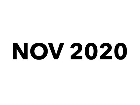 November 2020 Chamber Minutes