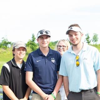 Mike, Jake and Patrick ... photo bomb