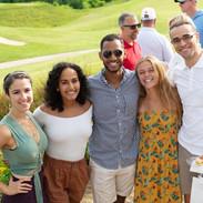 Kimberly, Metiya, Yafet, Brooke and Evan