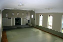 Our main training area