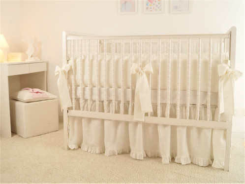 Baby Moods Collection Made From 100 Linen Fabric Color Ivory
