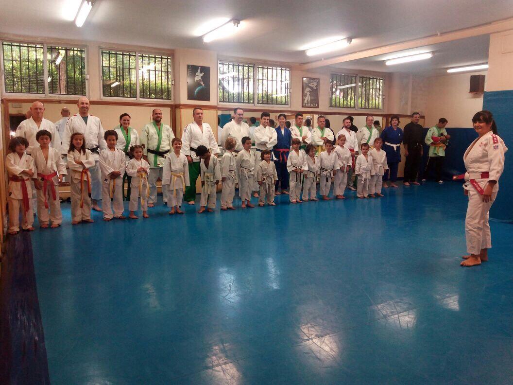 Judo padres hijos