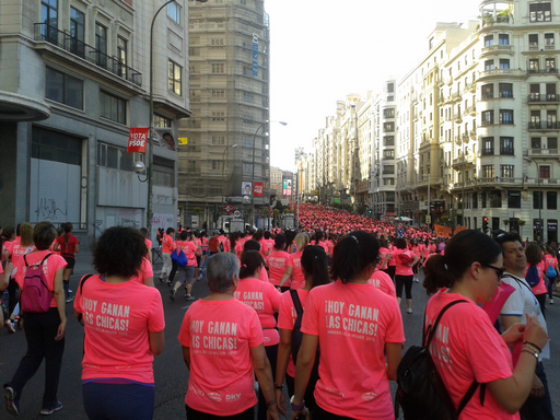 Carrera Mujer 2015