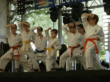 Exhibiciones de Karate