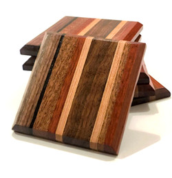 Exotic Wood Coasters
