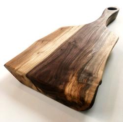 Black Walnut Charcuterie Paddle