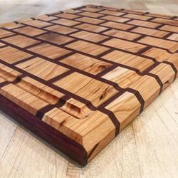 Brick Cutting Board (Detail)