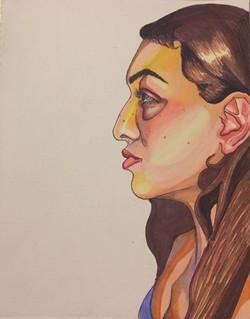 Profile Self Portrait